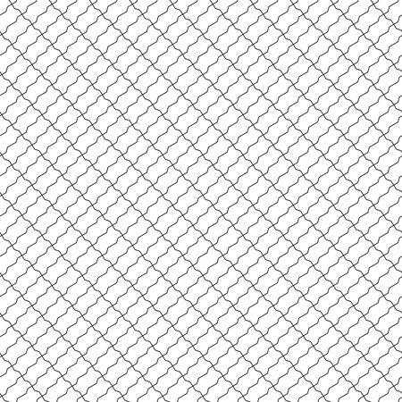 diagonal: shaped bricks seamless diagonal pattern. Illustration
