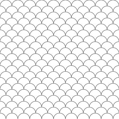 escamas de pez: escamas de pescado patr�n sin fisuras simples. Ilustraci�n del vector.