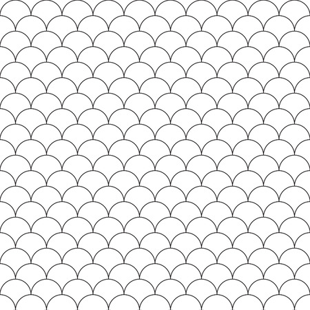 squama: simple seamless pattern fish scales. Vector illustration.