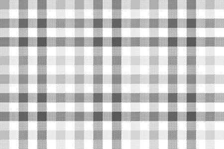 gray pattern: Gray check plaid seamless pattern. Illustration