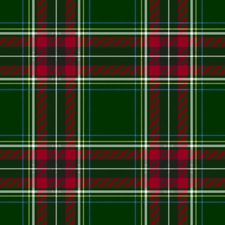 green and red: Green red check tartan textile seamless pattern