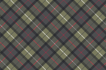 Classic tartan check plaid seamless pattern. Vector illustration. Ilustracja