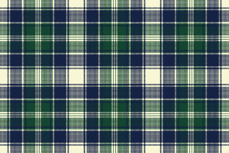 celtic background: Classic check plaid seamless pixel fabric texture. Vector illustration.
