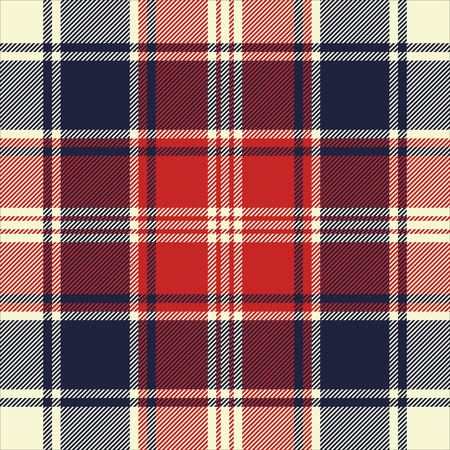 celtic background: Check fabric texture diagonal lines seamless pattern. Vector illustration.