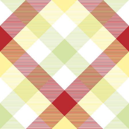 diagonal stripes: Abstract plaid fabric texture seamless pattern. Vector illustration. Illustration