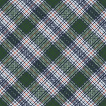 Check pixel plaid seamless texture. Vector illustration. Illustration