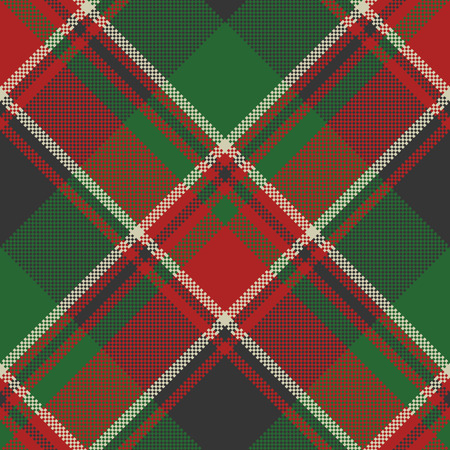 Plaid classic tartan seamless pattern. Vector illustration. Illustration