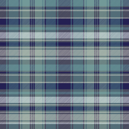 old english: Tartan plaid seamless fabric texture. Vector illustration.