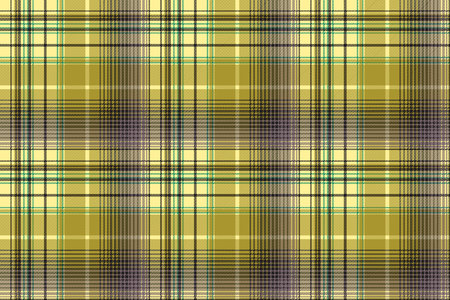Green abstract check plaid seamless pattern. Vector illustration. Illustration
