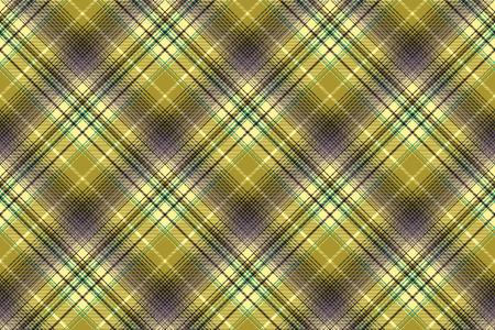 argyle: Green abstract check plaid seamless pattern. Vector illustration. Illustration
