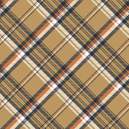 Beige plaid  pattern design.