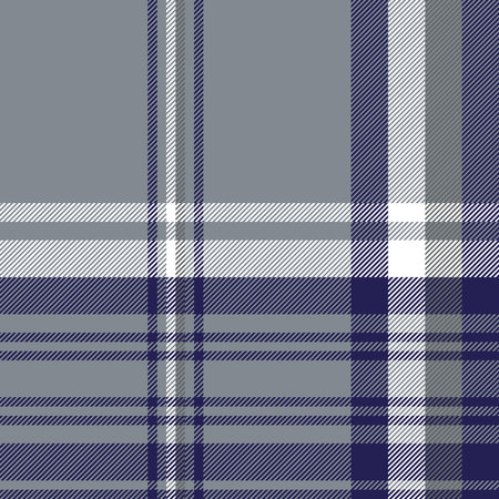Gray diagonal plaid seamless pattern. Vector illustration. Illusztráció