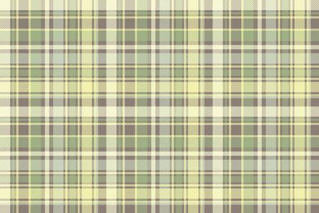 Tartan plaid fabric texture seamless pattern vector illustration.