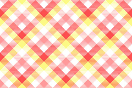 Pink baby color plaid seamless pattern. Vector illustration.