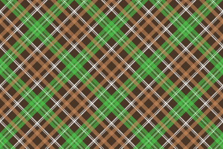 Check pixel plaid fabric texture seamless pattern. Vector illustration. Illustration