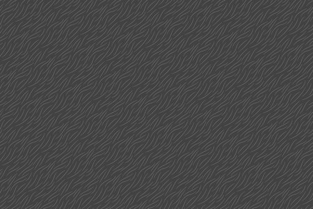 Gray fur texture abstract background seamless pattern. Vector illustration.