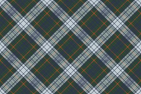 Tartan plaid pattern in green. Print fabric texture seamless. Check vector background. Standard-Bild - 113225115