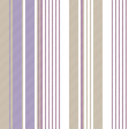 Gold purple color striped seamless pattern. Vector illustration.