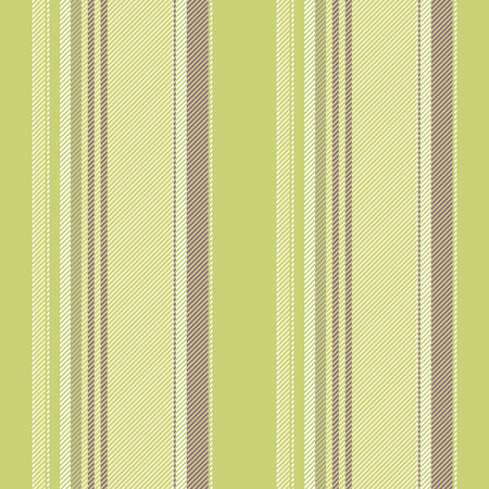 Green striped abstract lines seamless pattern. Vector illustration.