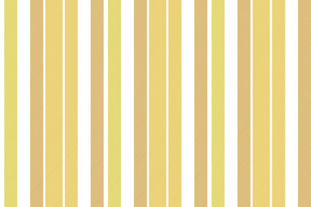 Beige striped fabric texture seamless pattern. Vector illustration.  イラスト・ベクター素材
