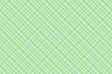 Green irish plaid watercolor style seamless pattern. Vector background.