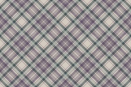 Napkin check fabric texture seamless pattern. Vector illustration. Illustration