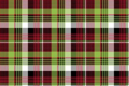 Abstract tartan background check seamless pattern. Flat design. Vector illustration.