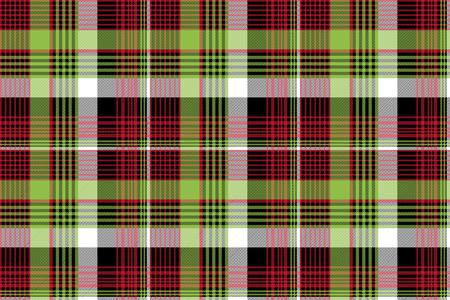 Abstract tartan background check seamless pattern. Flat design. Vector illustration.