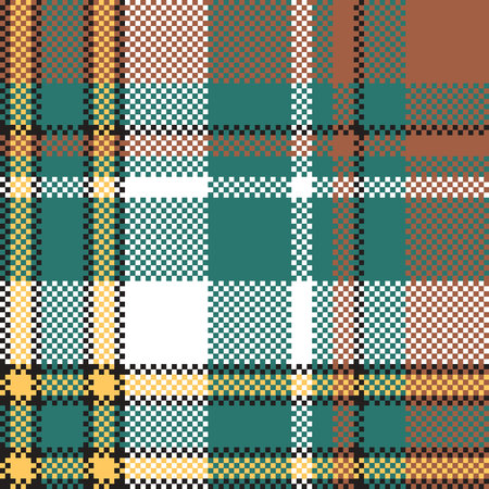 Classic check tartan seamless pattern. Vector illustration. Illustration