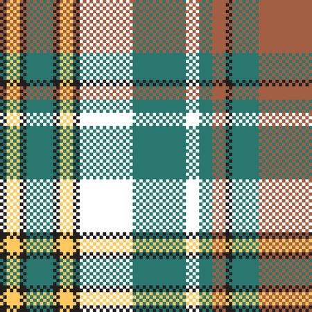 Classic check tartan seamless pattern. Vector illustration. Illustration