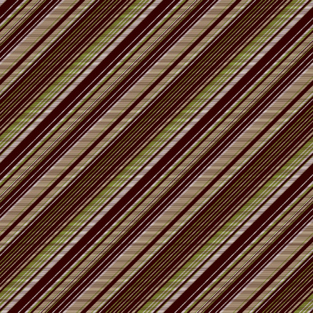 Green brown venge striped seamless background. Vector illustration.  イラスト・ベクター素材