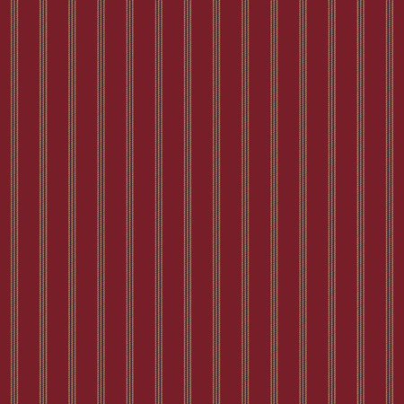 Red stripe fabric texture seamless pattern. Vector illustration.