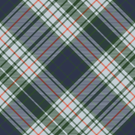 Abstract check tartan seamless background. Vector illustration.