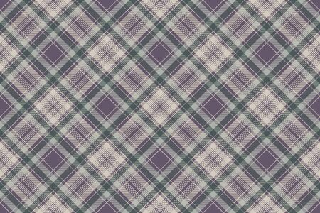 Tablecloth check fabric texture seamless pattern. Vector illustration.