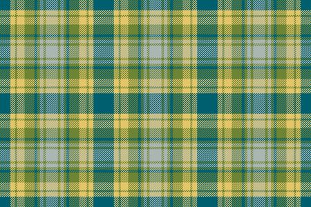 Tartan scotland seamless plaid pattern vector. Retro background fabric. Vintage check color square geometric texture for textile print, wrapping paper, gift card, wallpaper flat design. Ilustracja