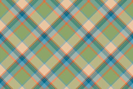 Tartan scotland seamless plaid pattern vector. Retro background fabric. Vintage check color square geometric texture for textile print, wrapping paper, gift card, wallpaper flat design. 写真素材 - 129680635