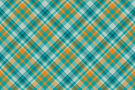 Tartan scotland seamless plaid pattern vector. Retro background fabric. Vintage check color square geometric texture for textile print, wrapping paper, gift card, wallpaper flat design. 写真素材 - 129680639