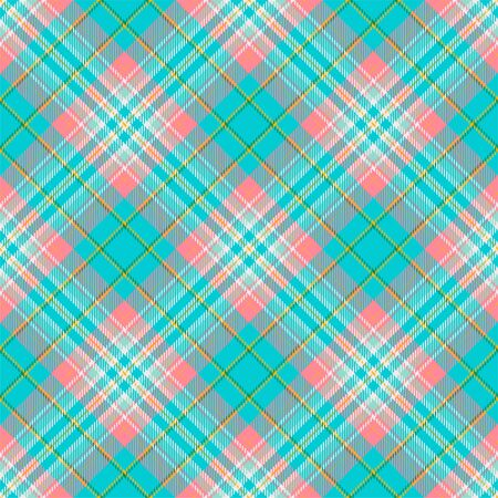 Tartan scotland seamless plaid pattern vector. Retro background fabric. Vintage check color square geometric texture for textile print, wrapping paper, gift card, wallpaper flat design. Фото со стока - 129683298