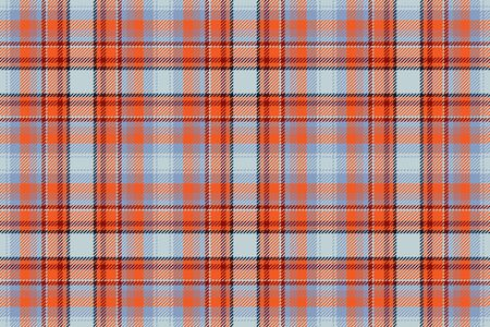Tartan scotland seamless plaid pattern vector. Retro background fabric. Vintage check color square geometric texture for textile print, wrapping paper, gift card, wallpaper flat design. Ilustração