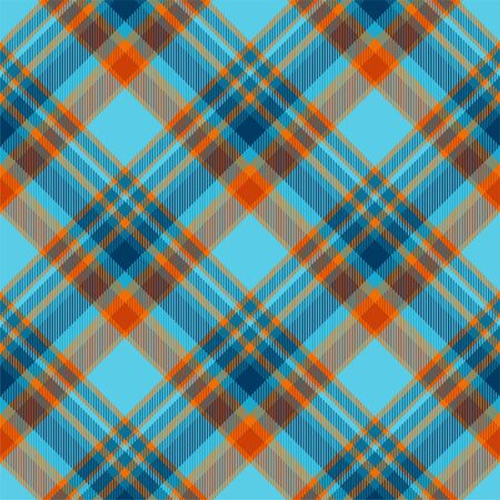 Tartan scotland seamless plaid pattern vector. Retro background fabric. Vintage check color square geometric texture for textile print, wrapping paper, gift card, wallpaper flat design. Фото со стока - 129813217