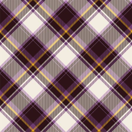 Tartan scotland seamless plaid pattern vector. Retro background fabric. Vintage check color square geometric texture for textile print, wrapping paper, gift card, wallpaper flat design. Фото со стока - 129813349