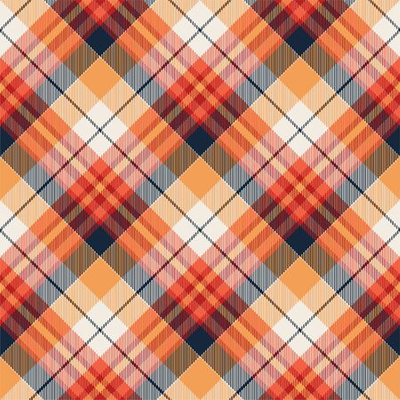 Tartan scotland seamless plaid pattern vector. Retro background fabric. Vintage check color square geometric texture for textile print, wrapping paper, gift card, wallpaper flat design. 스톡 콘텐츠 - 129813350