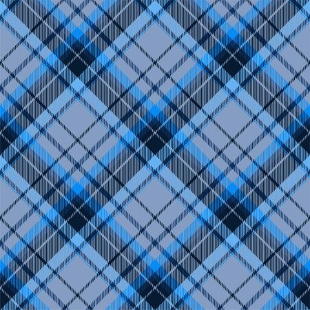 Tartan scotland seamless plaid pattern vector. Retro background fabric. Vintage check color square geometric texture for textile print, wrapping paper, gift card, wallpaper flat design. Ilustração