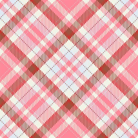 Tartan scotland seamless plaid pattern vector. Retro background fabric. Vintage check color square geometric texture for textile print, wrapping paper, gift card, wallpaper flat design. Фото со стока - 129813300
