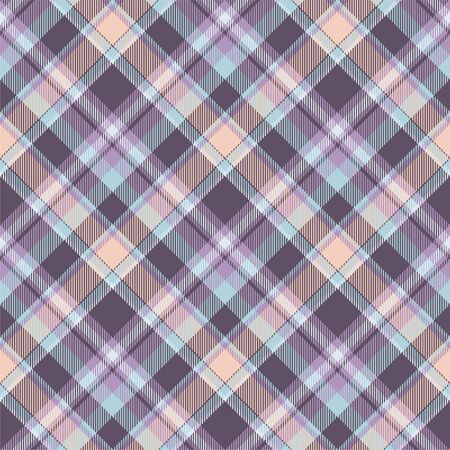 Tartan scotland seamless plaid pattern vector. Retro background fabric. Vintage check color square geometric texture for textile print, wrapping paper, gift card, wallpaper flat design. Фото со стока - 129813302
