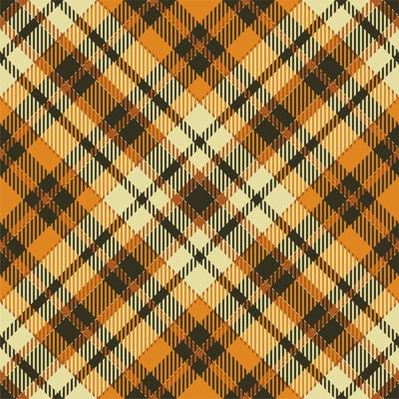 Tartan scotland seamless plaid pattern vector. Retro background fabric. Vintage check color square geometric texture for textile print, wrapping paper, gift card, wallpaper flat design. 写真素材 - 129813313