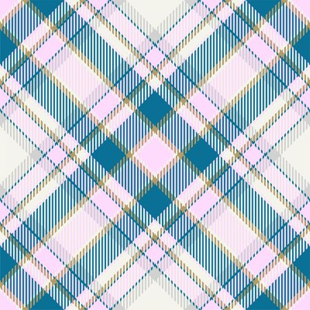 Tartan scotland seamless plaid pattern vector. Retro background fabric. Vintage check color square geometric texture for textile print, wrapping paper, gift card, wallpaper flat design. 写真素材 - 129813328