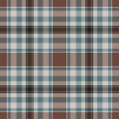 Tartan scotland seamless plaid pattern vector. Retro background fabric. Vintage check color square geometric texture for textile print, wrapping paper, gift card, wallpaper flat design. Фото со стока - 129813347