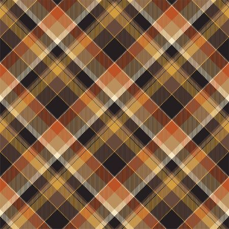 Tartan scotland seamless plaid pattern vector. Retro background fabric. Vintage check color square geometric texture for textile print, wrapping paper, gift card, wallpaper flat design. Illustration