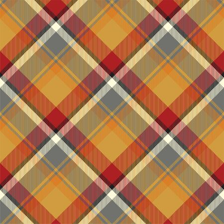 Tartan scotland seamless plaid pattern vector. Retro background fabric. Vintage check color square geometric texture for textile print, wrapping paper, gift card, wallpaper flat design. Reklamní fotografie - 131419850